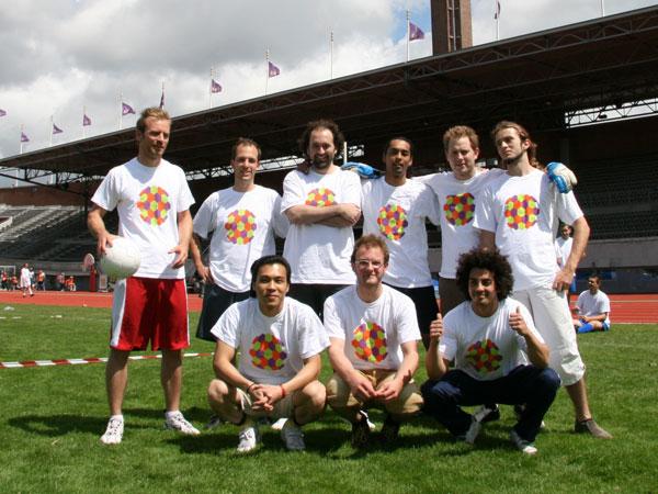 Teamfoto United Netbusters