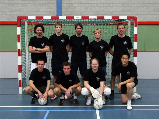 Teamfoto Zwarts & Jansma